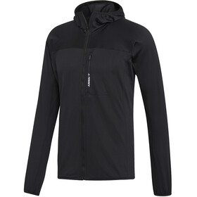 adidas TERREX TraceRocker Hooded Fleece Jacket Men black